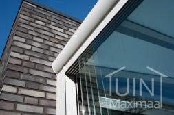 Gumax® Glazen schuifwanden in mat wit aan huis