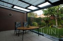 Gumax® elektrische zonwering in mat antraciet