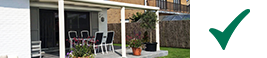 terrasoverkapping bescherming tuinmeubelen