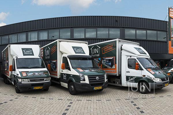 Montagebussen Tuinmaximaal